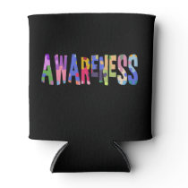 Autism Awareness Gift Autism Support Can Cooler