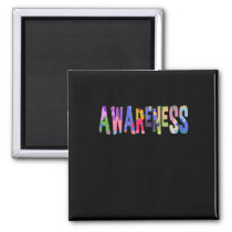 Autism Awareness Gift Autism Support Magnet