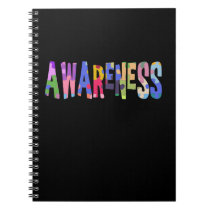 Autism Awareness Gift Autism Support Notebook