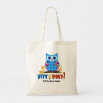 Autism Awareness Give A Hoot Owl Autism Tote Bag