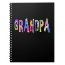 Autism Awareness Grandpa Autism Gift Notebook