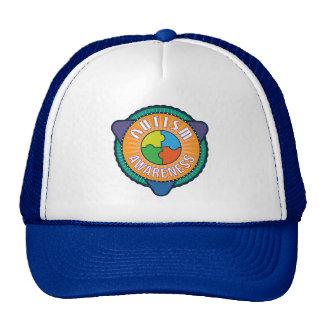Autism Awareness Graphic Badge Trucker Hat