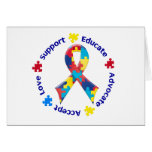 Autism Awareness Greeting Cards