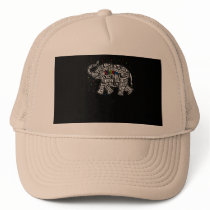 Autism Awareness Hat: Elephant Hat