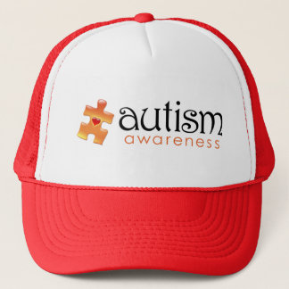 Autism Awareness Hat - Orange