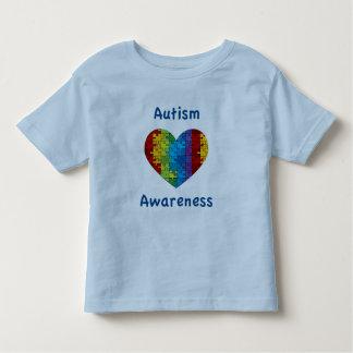 Autism Awareness Heart T Shirt