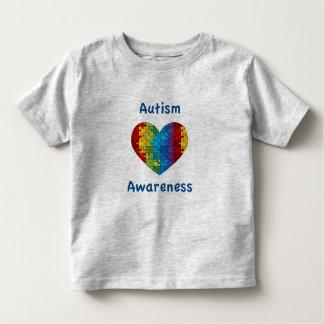 Autism Awareness Heart Toddler T-shirt