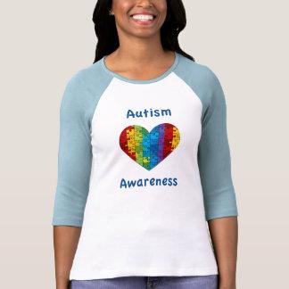 Autism Awareness Heart T-shirts