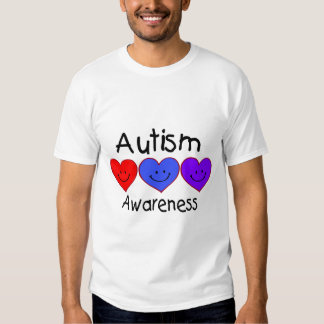Autism Awareness Hearts T-Shirt