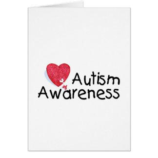 Autism Awareness (Hrt P) Greeting Card