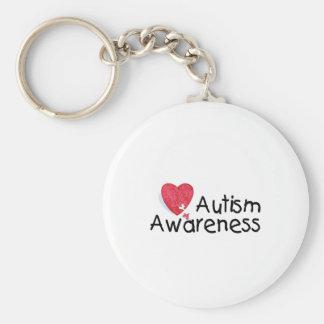 Autism Awareness (Hrt P) Keychain