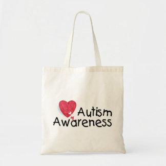 Autism Awareness (Hrt P) Tote Bag