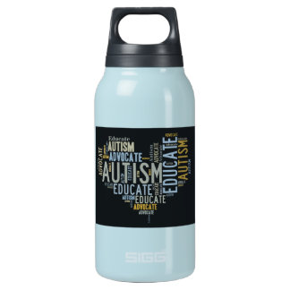 Autism Awareness Insulated Water Bottle