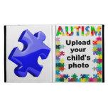 Autism Awareness iPad Multicolor Puzzle Folio Case iPad Cases
