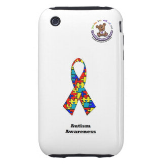 Autism Awareness iPhone 3G/GS Case Tough iPhone 3 Case