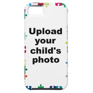 Autism Awareness iPhone 5 Case Puzzle Customize