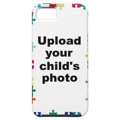 Autism awareness iphone 5 case puzzle customize zazzle for How to customize your iphone case