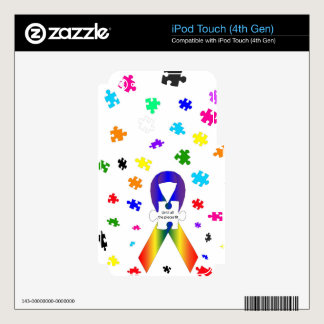 Autism Awareness iPod Touch 4G Skin