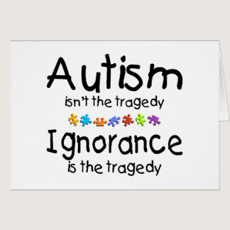 Autism Awareness Isnt The Tragedy Card
