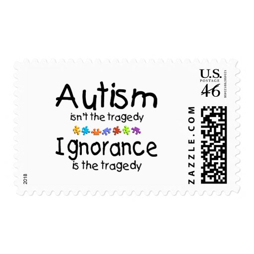 Autism Awareness Isnt The Tragedy Stamp
