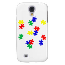 AUTISM AWARENESS ITEMS, puzzle pieces products Galaxy S4 Cover