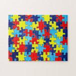 Autism Awareness Jigsaw Puzzle