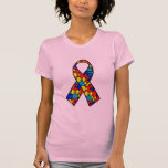 Autism Awareness Jigsaw Puzzle Ribbon Products Tshirts