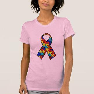 Autism Awareness Jigsaw Puzzle Ribbon Products Tshirts
