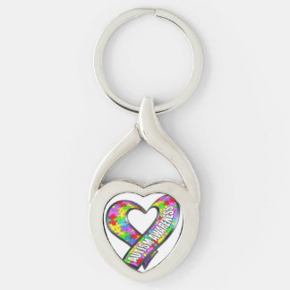 Autism Awareness Keychain
