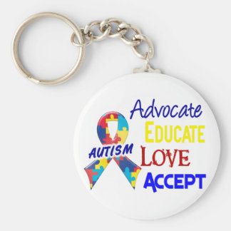 Autism Awareness Key Chains