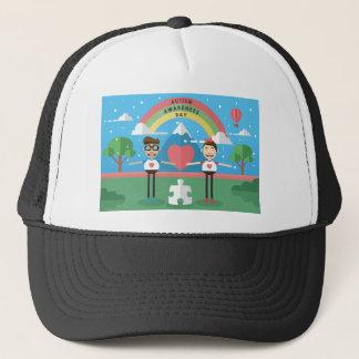 autism awareness kids trucker hat
