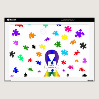 Autism Awareness Laptop Skin