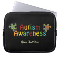 Autism Awareness Laptop Sleeve (customizable)