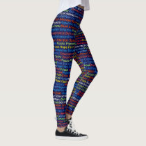 Autism Awareness Legging