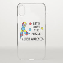 Autism Awareness: Let's Solve the Puzzle! iPhone X Case