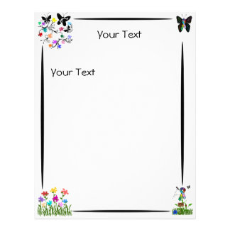 Autism Awareness Letter Head Personalized Letterhead