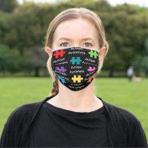 Autism Awareness Mask