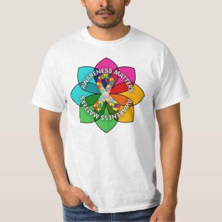 Autism Awareness Matters Petals Tee Shirt