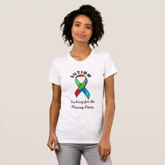 Autism Awareness Missing Pieces Ribbon Shirt