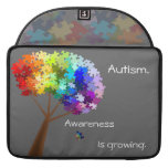 Autism Awareness Monogram Flap Sleeve Sleeve For MacBooks