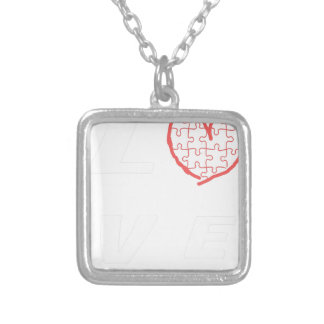 Autism Awareness Month 2017 Silver Plated Necklace