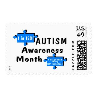 Autism Awareness Month (2 Pieces) Stamps