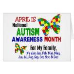 AUTISM AWARENESS MONTH APRIL CARDS