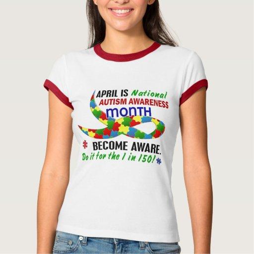 AUTISM AWARENESS MONTH APRIL T-SHIRTS