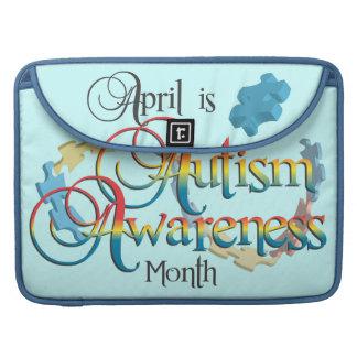 Autism Awareness Month Blue MacBook Pro Sleeve