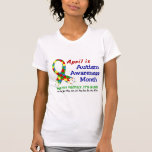 AUTISM AWARENESS MONTH EVERY MONTH T SHIRT