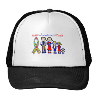 Autism Awareness Month Family Support Trucker Hat