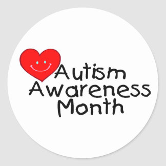 Autism Awareness Month Hrt Stickers