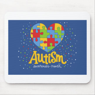 autism awareness month mouse pad