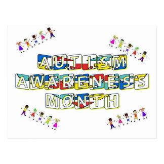 Autism Awareness Month Post Cards